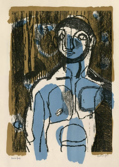 The Woodman also known as The Blue Boy, 1949 © Estate of Keith Vaughan