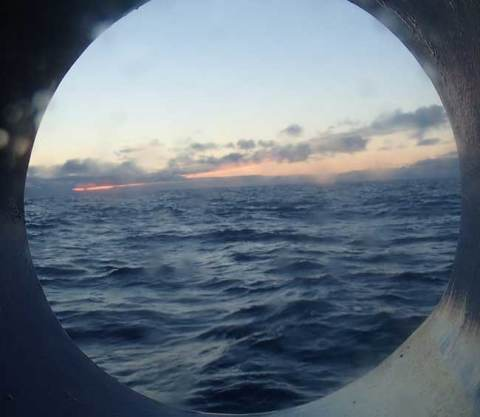 midnight through porthole