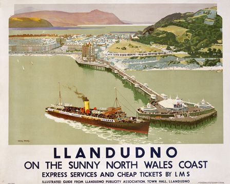 Llandudno on the Sunny North Wales Coast