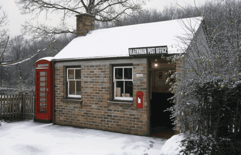 Blaenwaen Post Office at St Fagans National History Museum