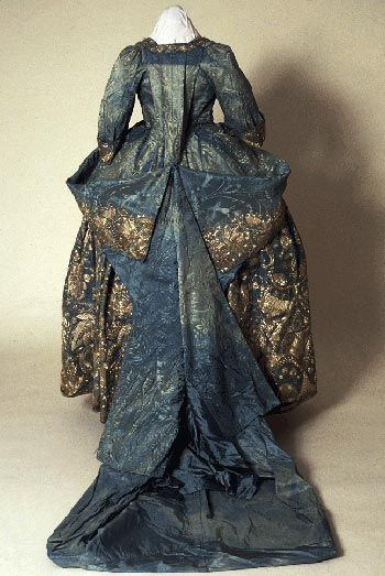 This is a very grand robe which would have been worn for presentation at court.