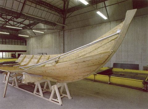 A reconstructed model of the Boat