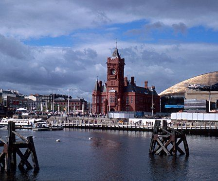 Cardiff: the port transformed. Modern retail developments now stand where Cardiff once exported coal to the world.