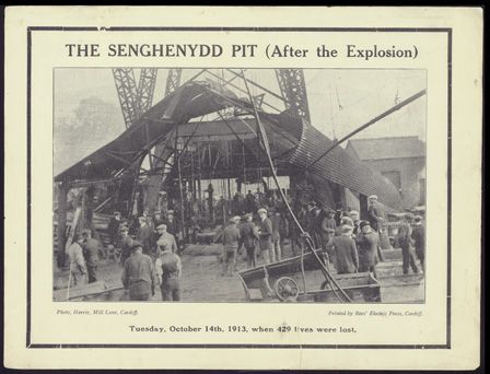 The Senghenydd Pit (After the Explosion)