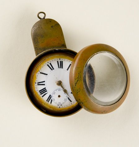 Pocket Watch in watch case (turnip)