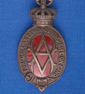 The Albert Medal (front view)