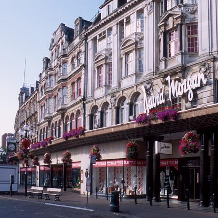 David Morgan's department store opened in Cardiff in 1879. The store provided important support for the Brynmawr Furniture Company between 1932 and 1940.