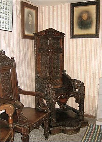 The Birkenhead National Eisteddfod Black Chair of 1917