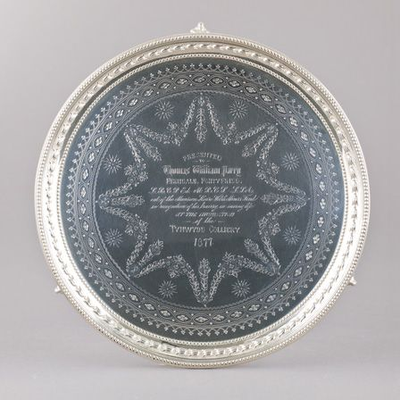 Mansion House Welsh Miners' Fund tray