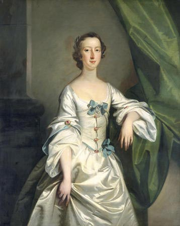 Portrait of a Lady: Maid of Honour. Richard Wilson (1714 - 1782)