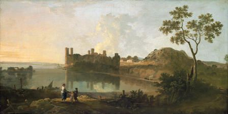 Caernarvon Castle by Richard Wilson
