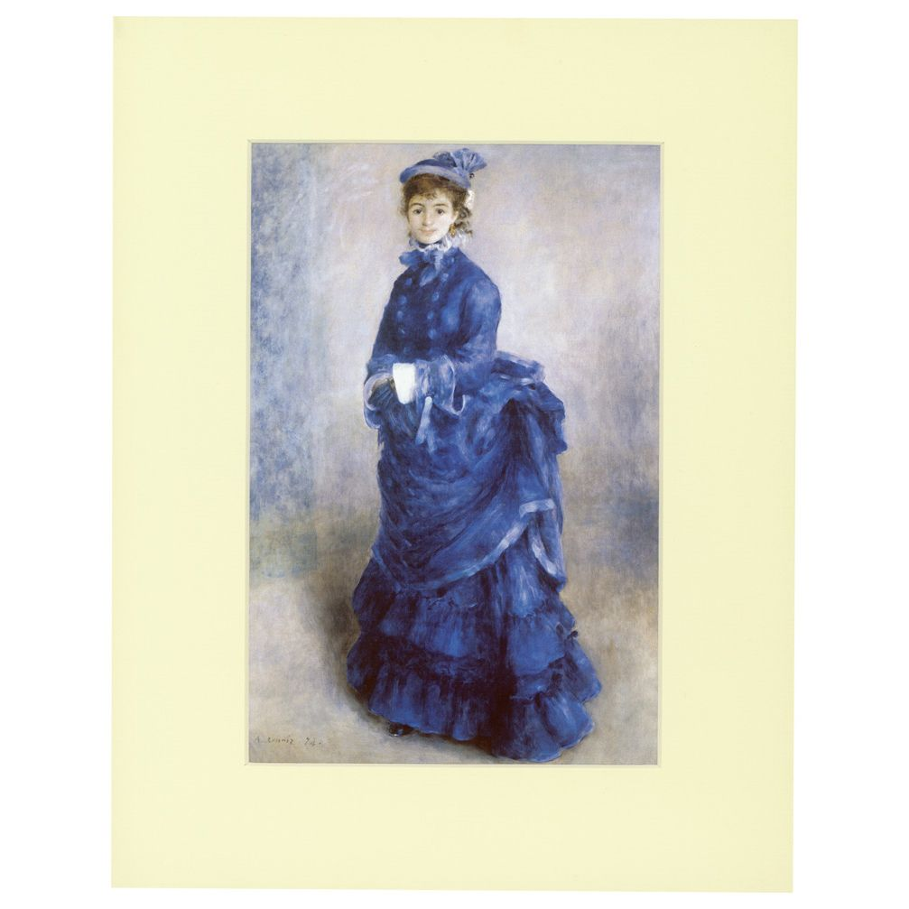 La Parisienne mounted print