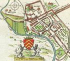 John Speed's map of 1610. Speed's plan of Cardiff reveals many aspects of the city's development, including the majority of features described in this article.