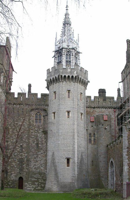 Beauchamp's tower, Cardiff castle.