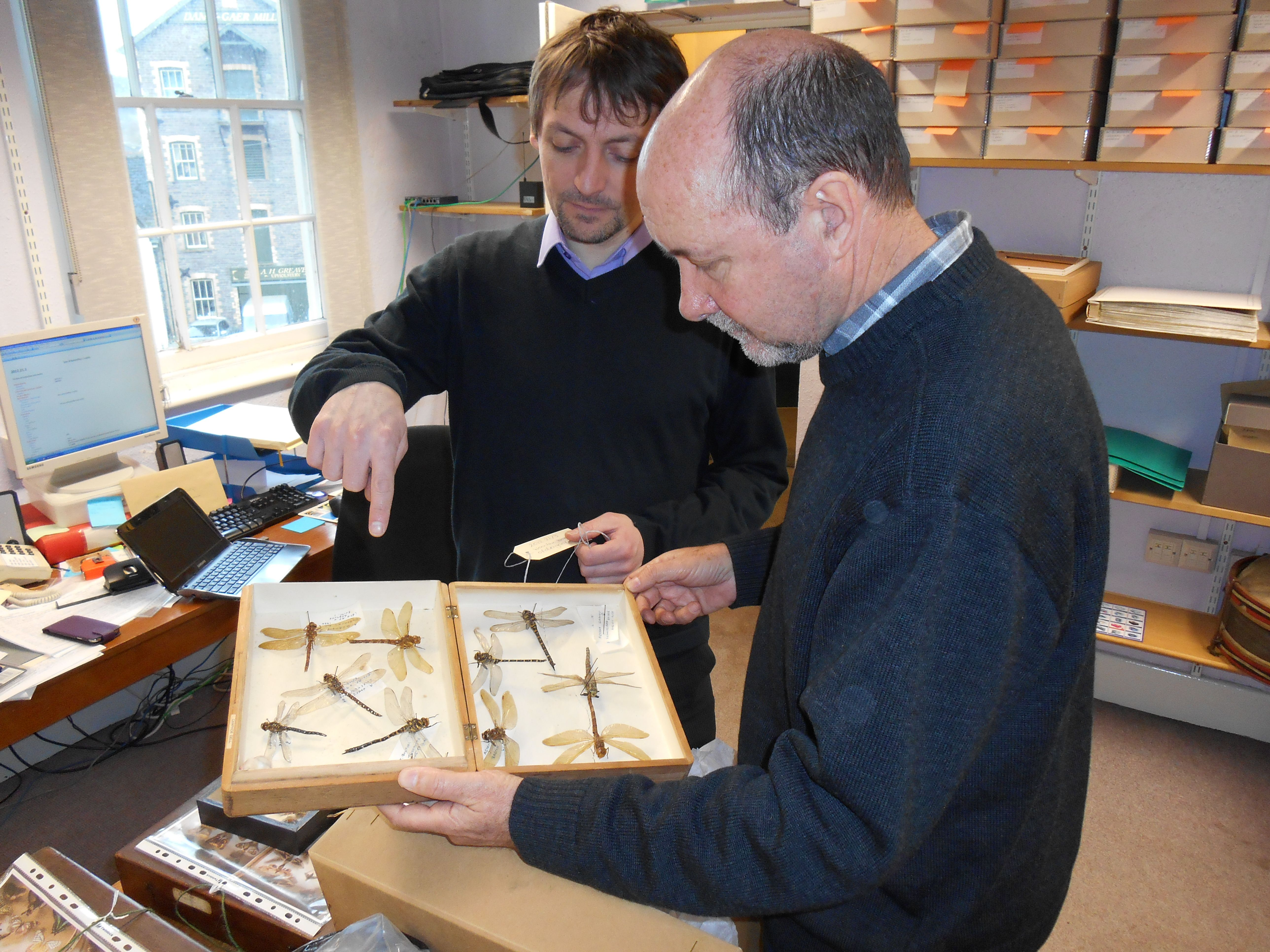 Brecknock Museum Collections Review Nigel Blackamore Mike Wilson