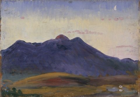 view of Arenig by J D Innes
