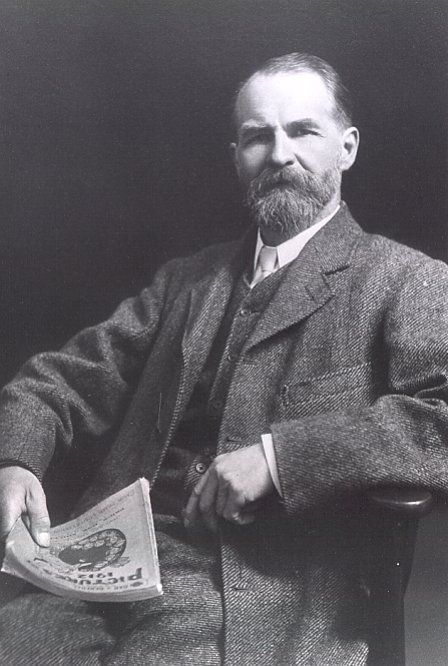 John Ward, Curator of Cardiff Museum and Art Gallery (1893-1912) and first Keeper of Archaeology in the National Museum of Wales (1912-14).