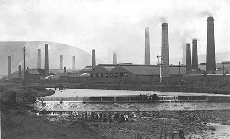 Robert B. Byass & Co. tinplate works at Port Talbot