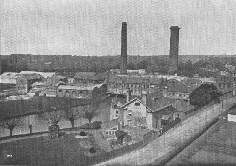 Horton Kirby Mill, South Darenth, Kent in 1872