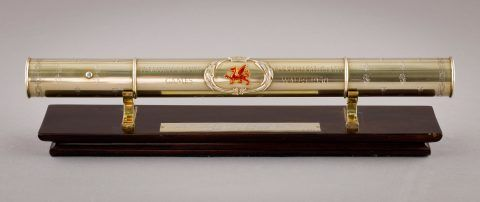 The 1958 British Empire and Commonwealth Games Queen's Relay baton