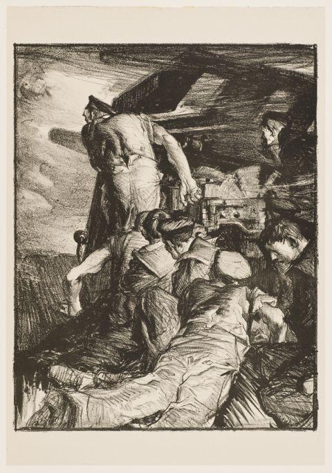 The Gun - Frank Brangwyn