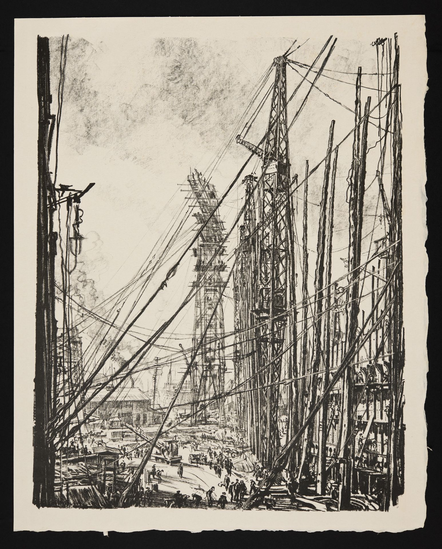 A Ship-Yard - Muirhead Bone