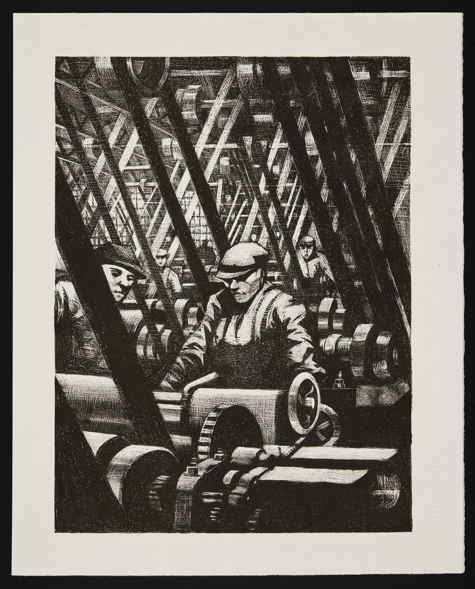 Making the Engine - Christopher Richard Wynne Nevinson