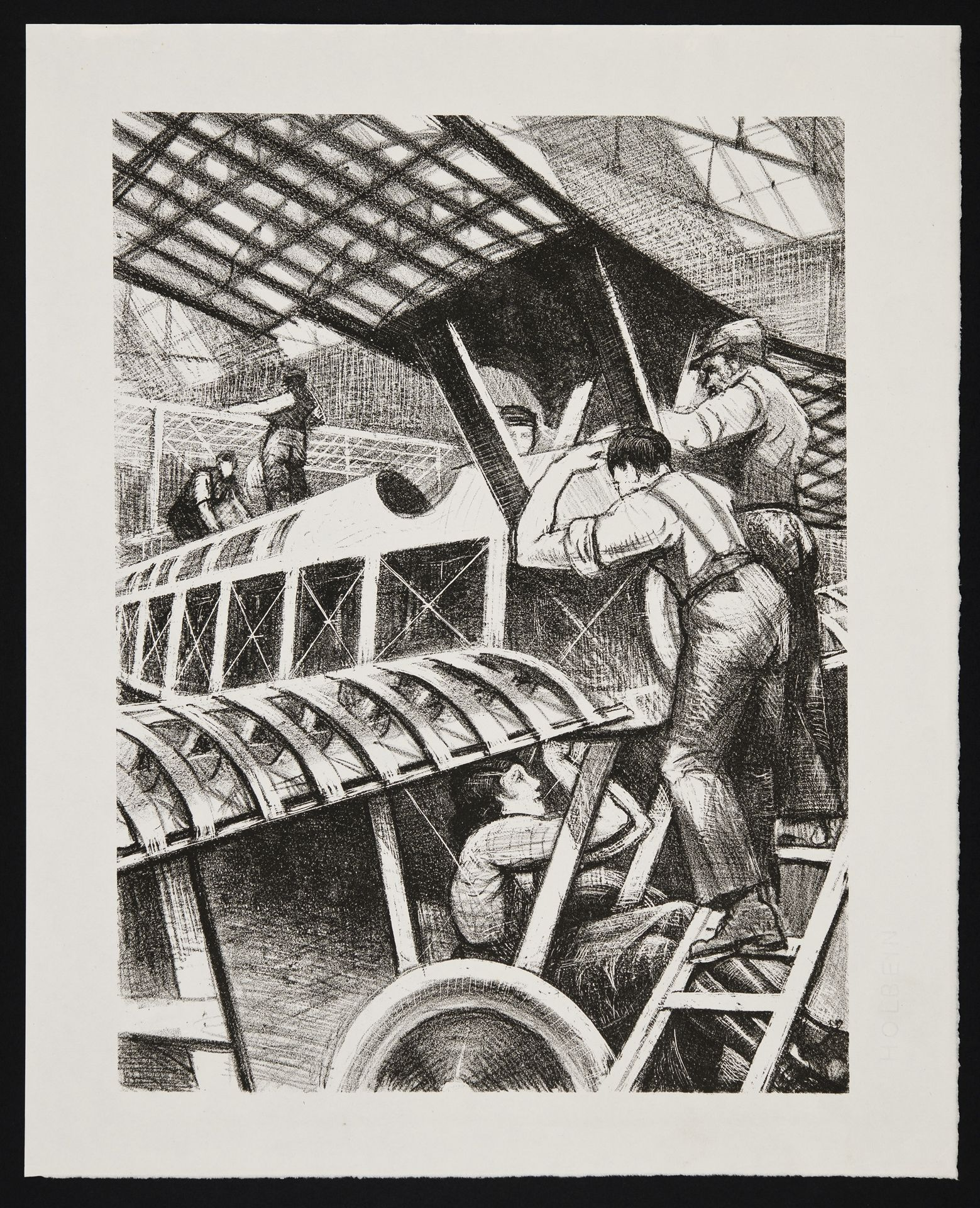 Assembling Parts - Christopher Richard Wynne Nevinson