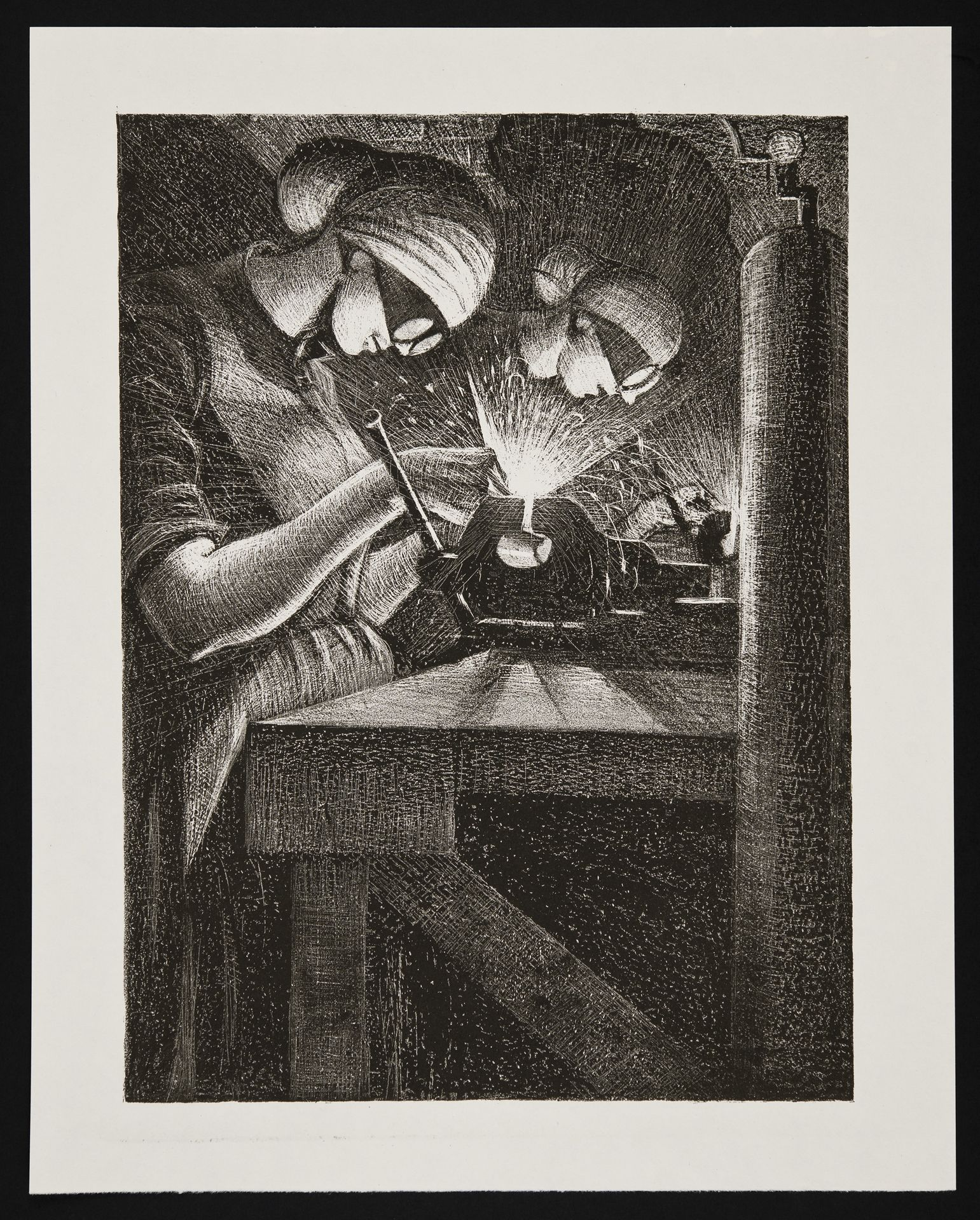 Acetylene Welder - Christopher Richard Wynne Nevinson