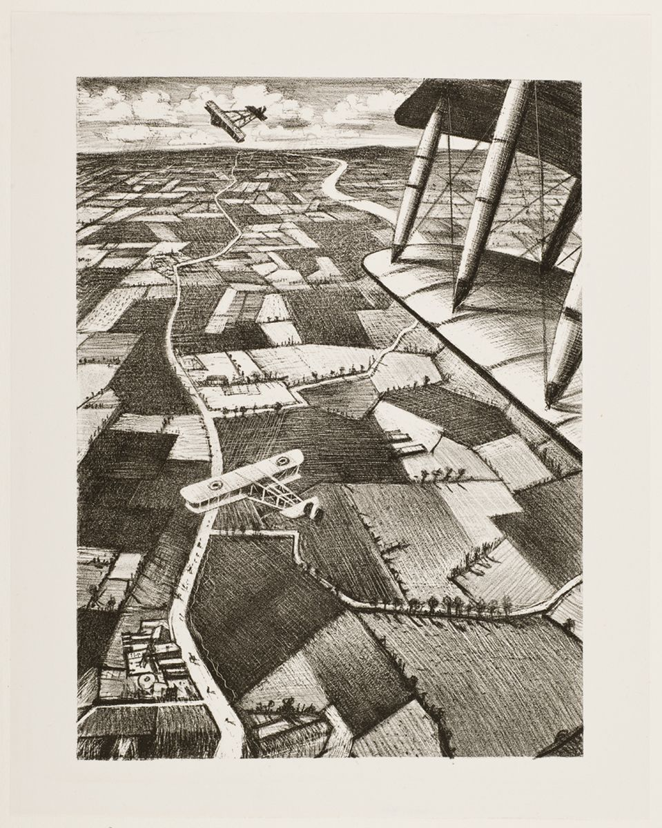 In the air - Christopher Richard Wynne Nevinson