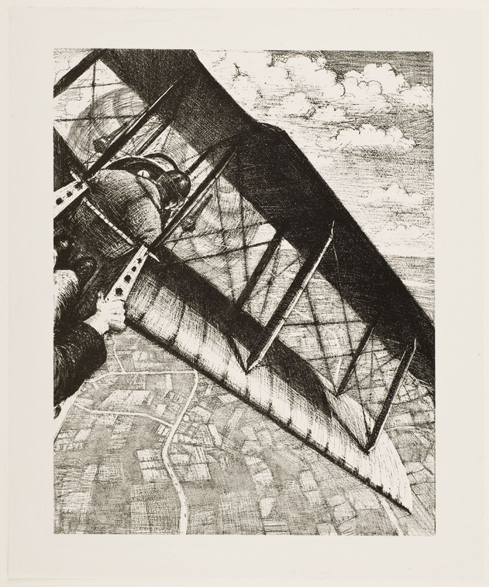 Banking at 4,000 feet - Christopher Richard Wynne Nevinson