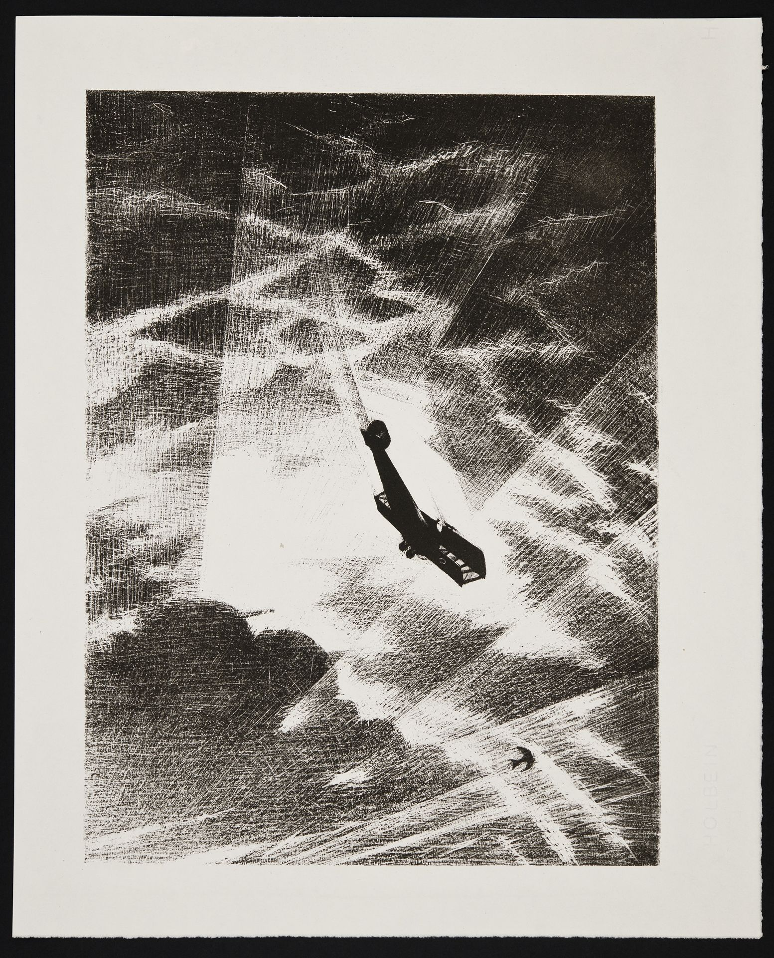 Swooping down on a Taube - Christopher Richard Wynne Nevinson