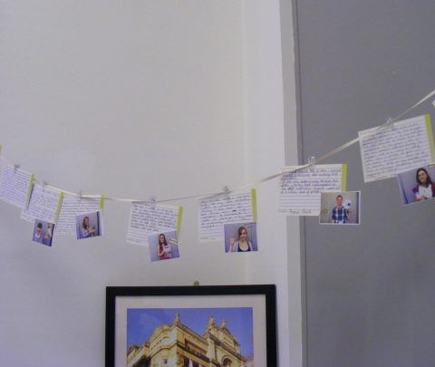 A range of Cardiff stories with images of participants and their objects.