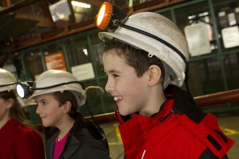 Learning at Big Pit: National Coal Museum
