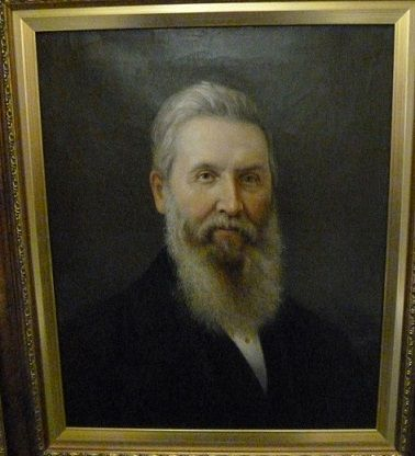 Oil painting of Thomas Jenkins, 1879