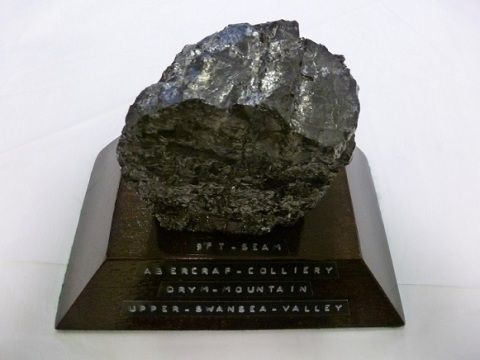 Coal from Abercraf Colliery, 1990s