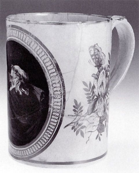 The Swansea earthenware tankard by William Weston Young.