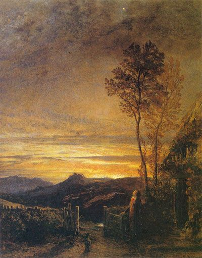'The Rising of the Lark' by Samuel Palmer