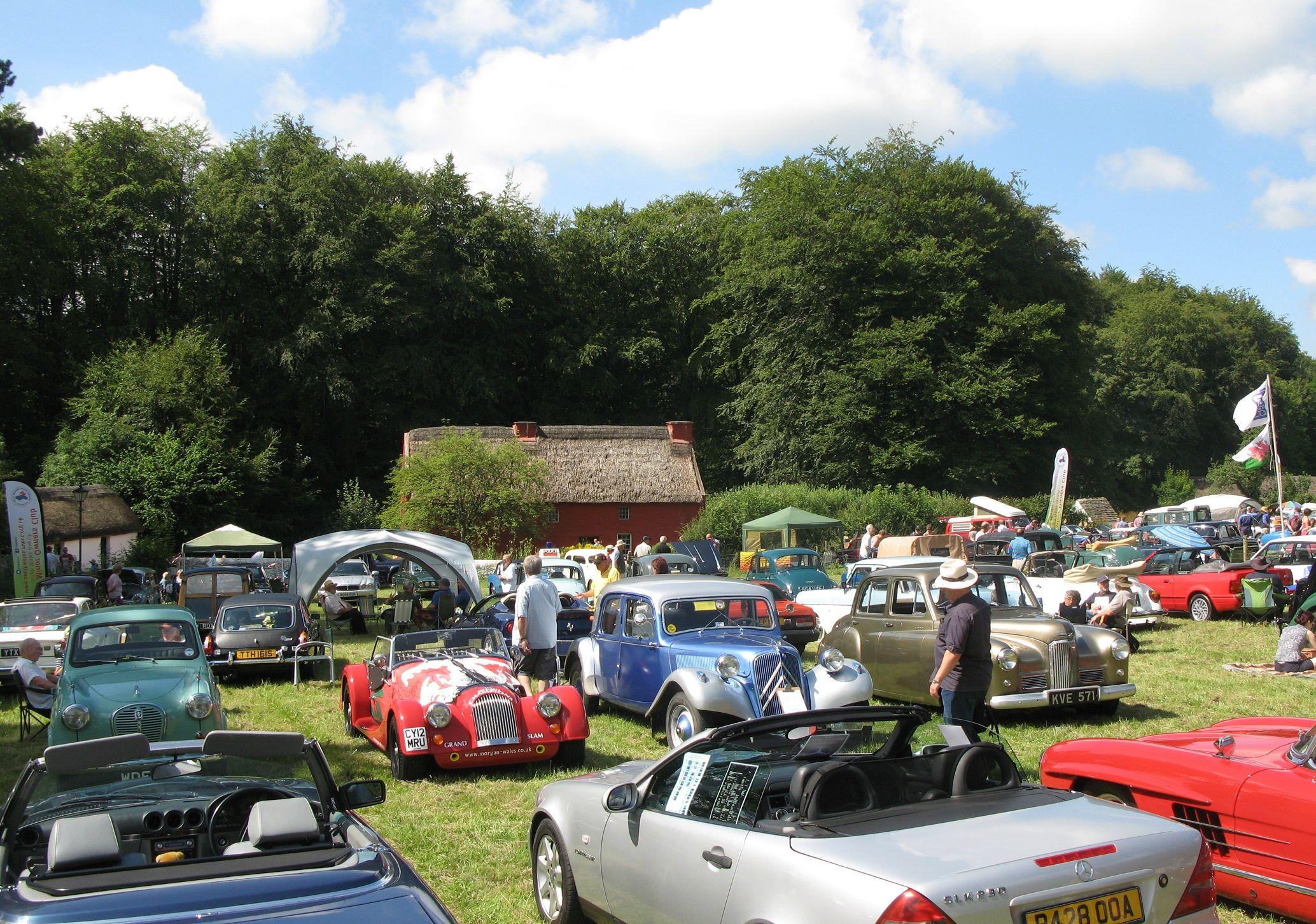 St Fagans Classic Car Show