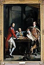Pompeo Batoni (1708-87); Sir Watkin Williams-Wynn, 4th Bt, Thomas Apperley and Captain Edward Hamilt
