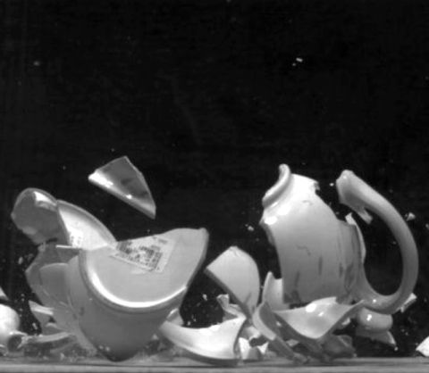 David Cushway, <em>Fragments (Teapot),</em> 2006-7 &copy; the artist