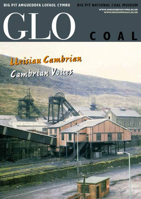 Front cover of Glo issue 10: Cambrian Voices