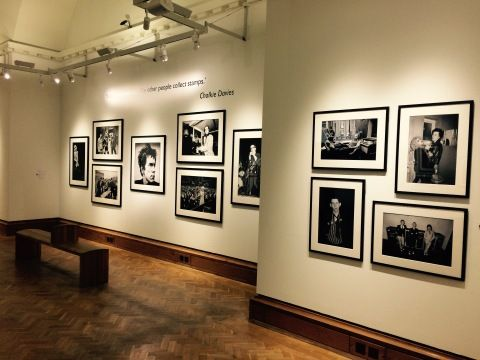 Picture of the Chalkie Davies: the NME Years exhibition