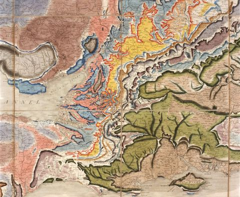 William Smith and the birth of the geological map