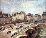 Camille Pissarro (1830-1903); Pont Neuf, snow effect, 2nd series, 1902