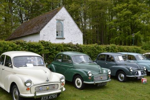 Morris Minor Mania at St Fagans