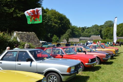 Glamorgan Classic Car Club Show at St Fagans