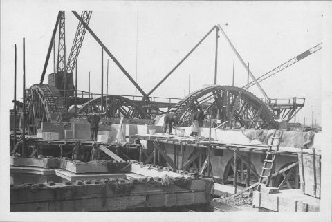 Construction of the dome section