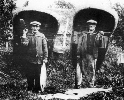 Cilgerran coracle-men
