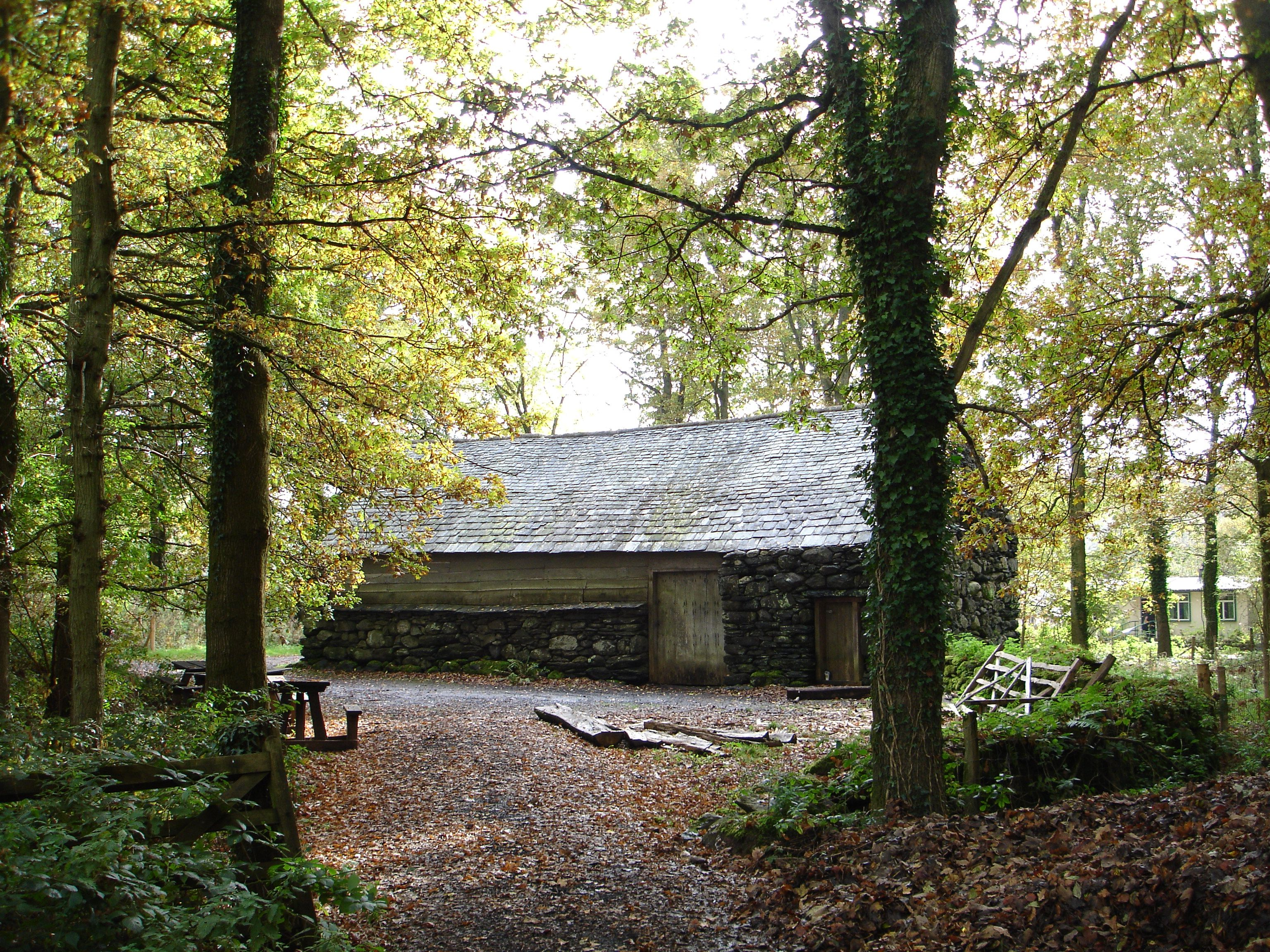 Hendre-wen Barn at St Fagans National Museum of History